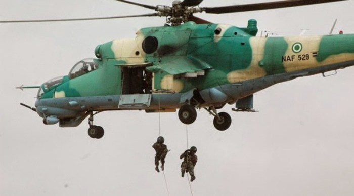 Nigerian Air Force strikes have destroyed Boko Haram facilities and equipment