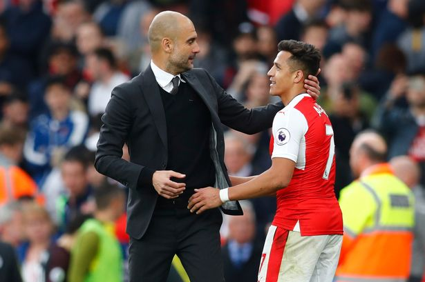Joining Guardiola at City would give Sanchez the Champions League football he craves