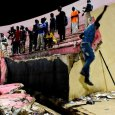 Eight killed in Senegal stadium collapse