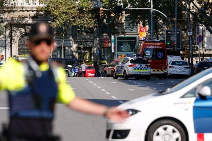 Van rams into crowd in Barcelona terror attack