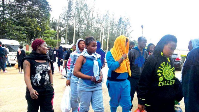 Nigerians deported from Libya