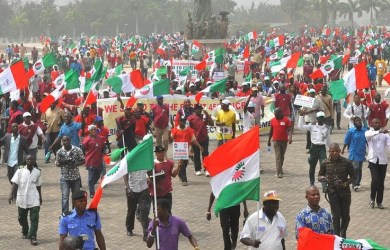 Labour unions in Nigeria have insisted on N30,000 minimum wage rejecting the Federal Government offer of N25,000