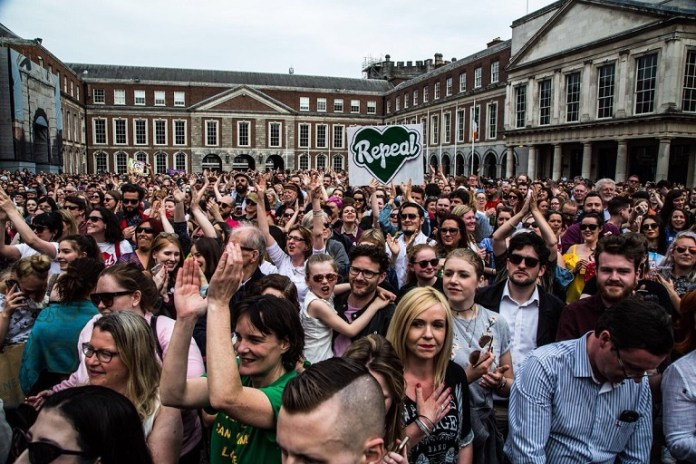 Republic of Ireland have voted to overturn abortion ban