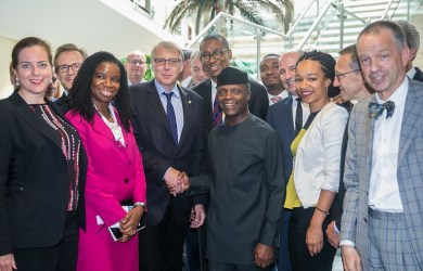 VP meets with Delegations of German Industry & Commerce, Abuja Photo/Novo Isioro