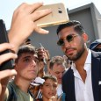 Emre Can has completed his Juventus medical as fans try to catch a glimpse of their new signing