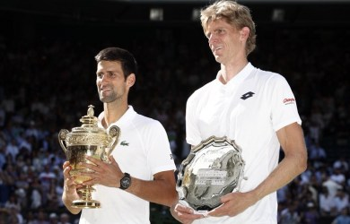 Novak Djokovic beat Kevin Anderson to win his fourth Wimbledon title