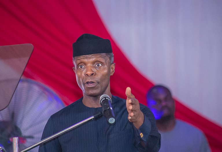 Acting President Yemi Osinbajo attended the 30th National Biennial Conference in Enugu on Saturday