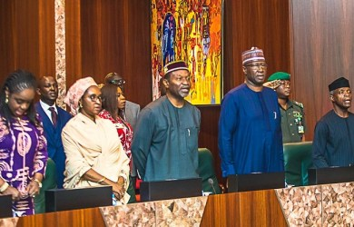 Acting President Yemi Osinbajo presided over the National Economic Council at the State House in Abuja