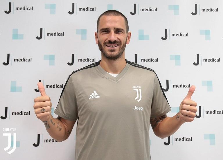 9062495c74e Leonardo Bonucci rejoins Serie A champions Juventus - Chronicle.ng