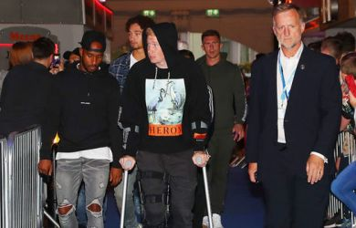 Manchester City midfielder Kevin de Bruyne could be out for up to two months after suffering a knee injury in training