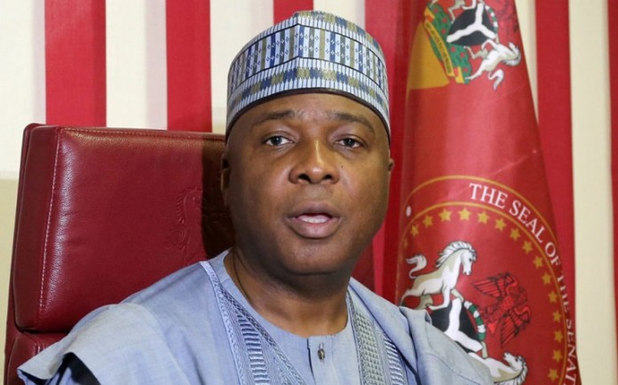 Senate President Bukola Saraki says National Assembly will pressure President Buhari to sign PIGB