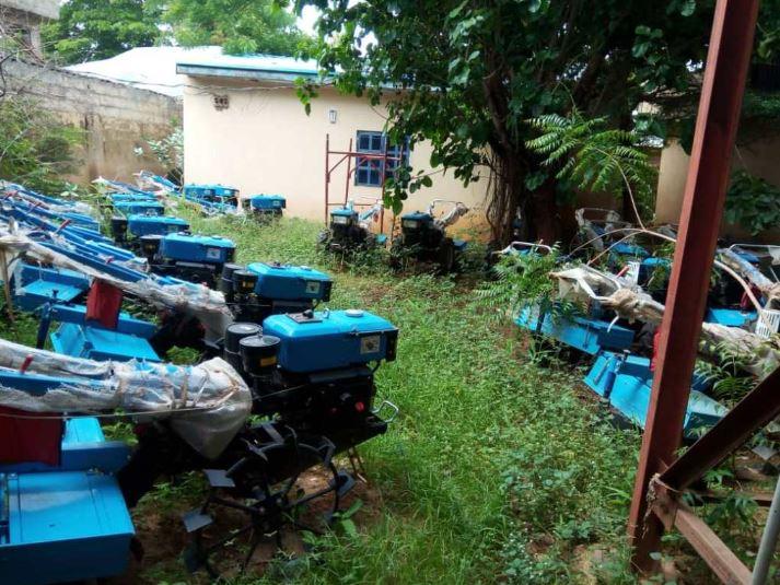 Power Tiller Machines nominated by Senator Adamu Aliero wasting away in Kebbi