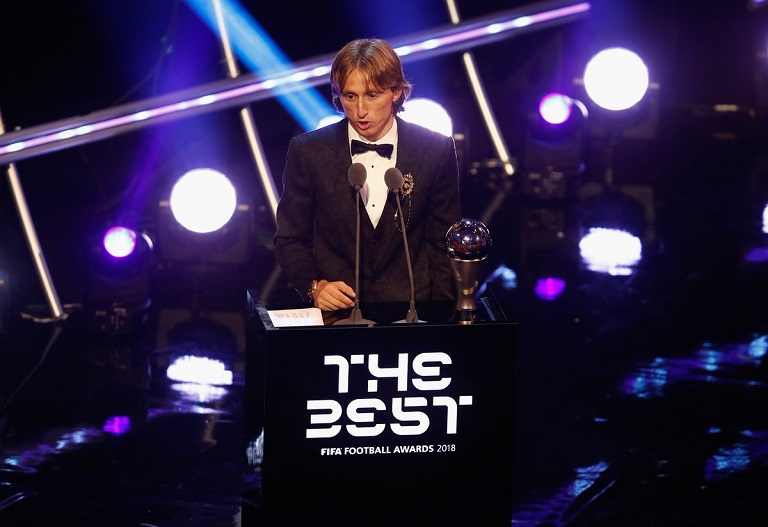 Luka Modric has been named #theBest player by FIFA beating Cristiano Ronaldo and Mohamed Salah