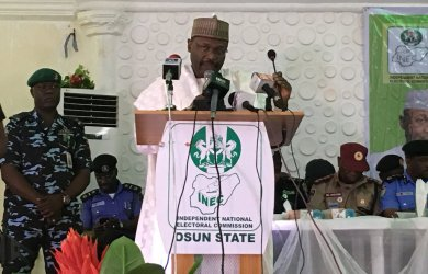 INEC has warned against announcing or publishing false election results