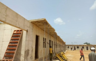 Block of 24 classrooms, offices and toilets built by Parkmore Nigeria Limited