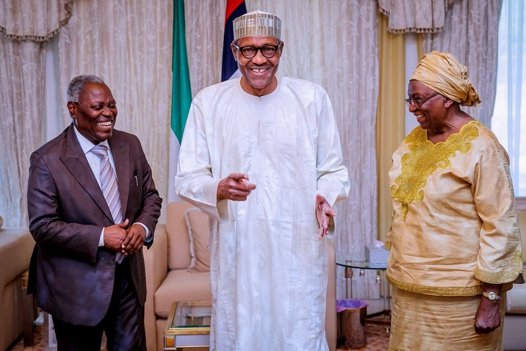 Buhari thanked Pastor Kumuyi for preaching and visiting him at the Aso Villa
