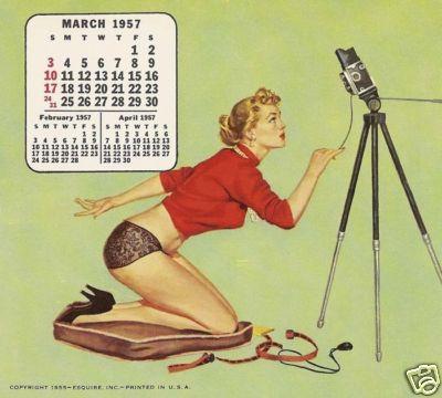 1957 Pinup Girl