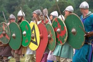 Viking culture was often adopted by an ascendant ruling class in Viking conquered territories like Nova Scotia and Ireland. More often, inhabitants were sold into slavery in the Muslim world.