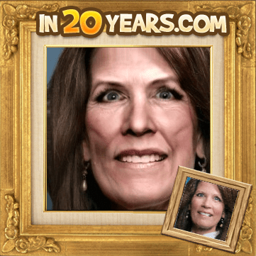The un-doctored photograph of Michelle Bachmann