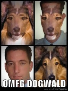Fans and critics alike of controversial reporter Glen Greenwald enjoy the hilarious Dogwald meme.