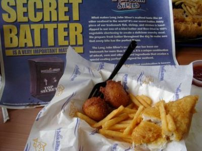 Long John Silver's food is being used as dispersant following public outcry