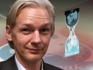 Julian Assange is back online. Photo: Wikileaks