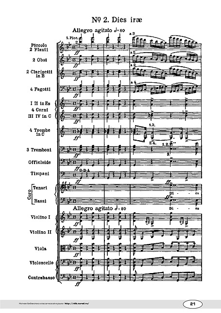 What Gantt Charts Have to Do with the Verdi Requiem