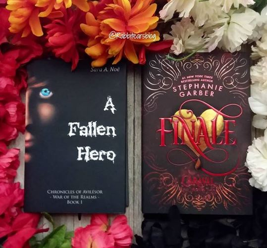 A Fallen Hero #bookstagram by @rabbitearsblog