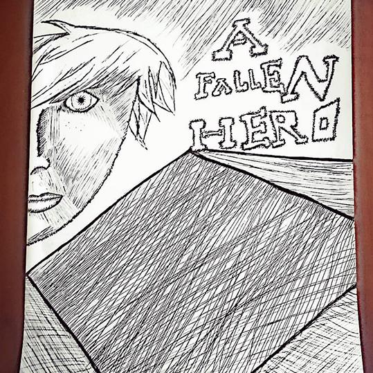 Fan Art - A Fallen Hero by @silhouettenimiane