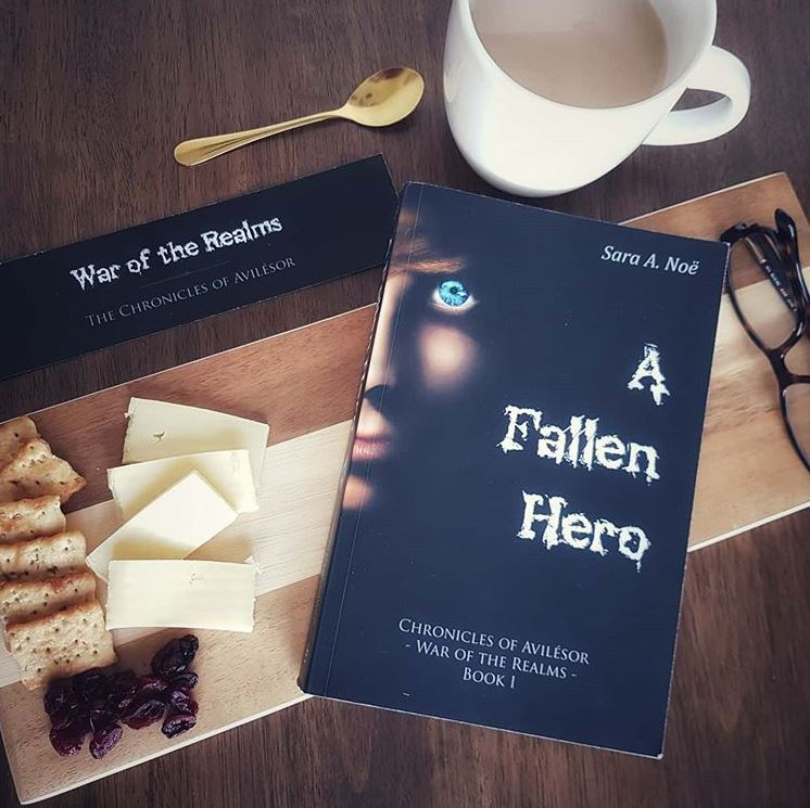 A Fallen Hero #bookstagram by @theplumreport