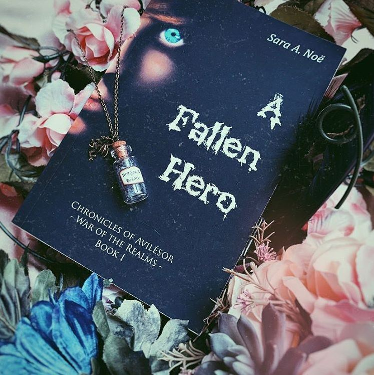 A Fallen Hero #bookstagram by @ya.its.lit