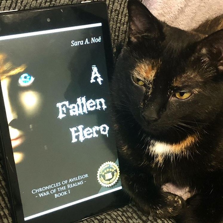 A Fallen Hero #bookstagram by @a_latte_books_by_kristen