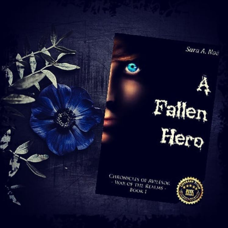 A Fallen Hero #bookstagram by @stitchsaddiction