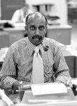 Photo.  C. Gerald Fraser in 1975. Credit Reginald Stuart/The New York Times