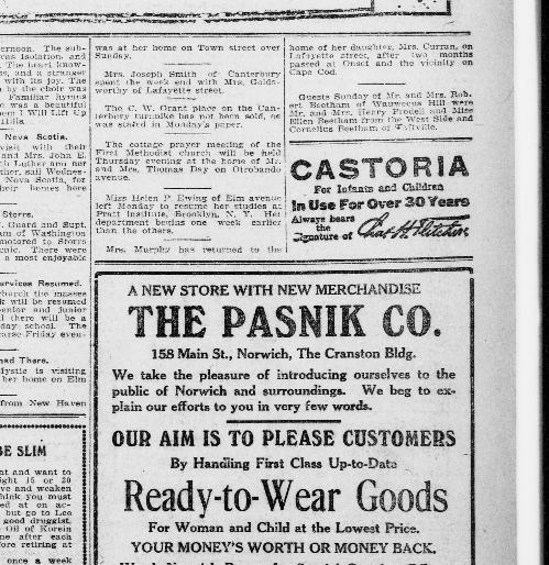 Norwich bulletin. (Norwich, Conn.) 1895-2011, September 19, 1916 ...