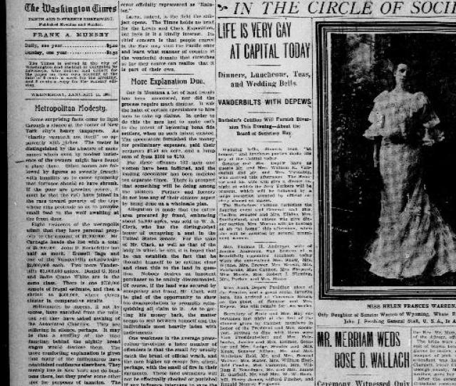 The Washington Times Washington D C 1902  1905 Evening Page  Chronicling America Library Of Congress