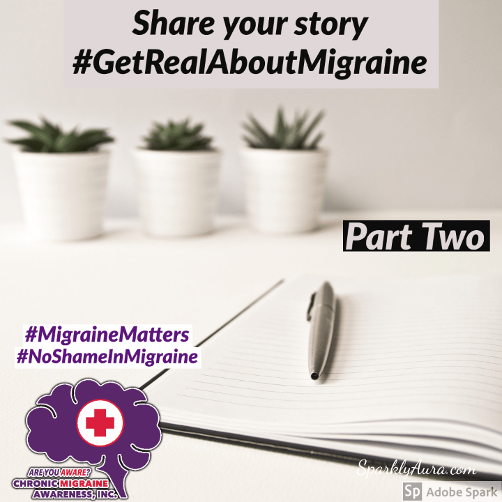 Get Real About Migraine: Sharon's Story