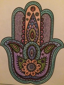 One of my coloring creations