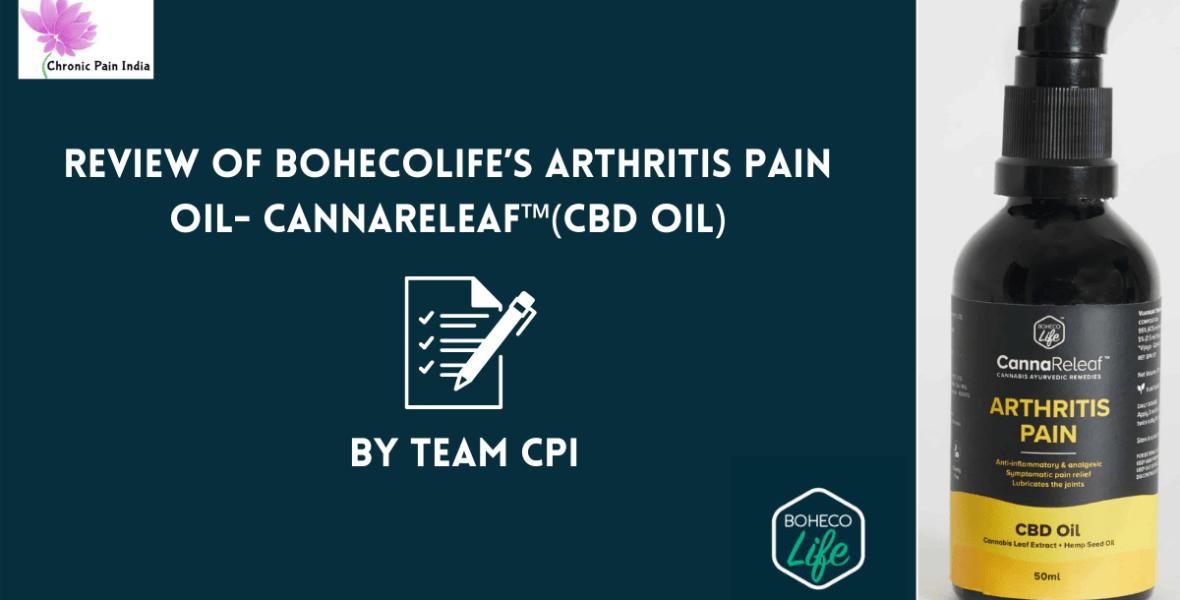 BohecoLife's Arthritis Pain Oil- CannaReleaf™(CBD oil)