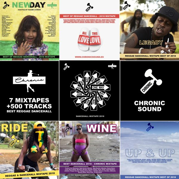 7 mixtapes gratis para repasar lo mejor de Reggae y Dancehall de 2018