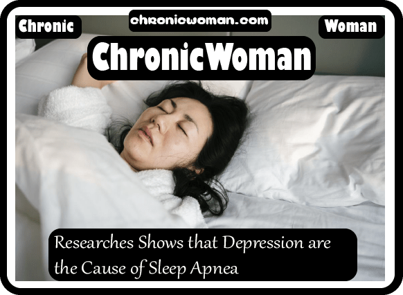 Researches Shows that Depression are the Cause of Sleep Apnea