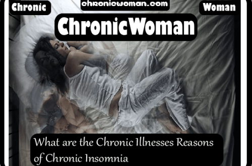 What are the Chronic Illnesses Reasons of Chronic Insomnia