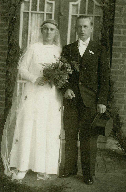 1935  Hochdonn  Hochzeit von Ernst und Lene Grell