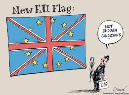 """LE NOUVEAU DRAPEAU EUROPEEN """"Pas assez de concessions"""""""