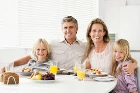 Une famille comme dans les publicités