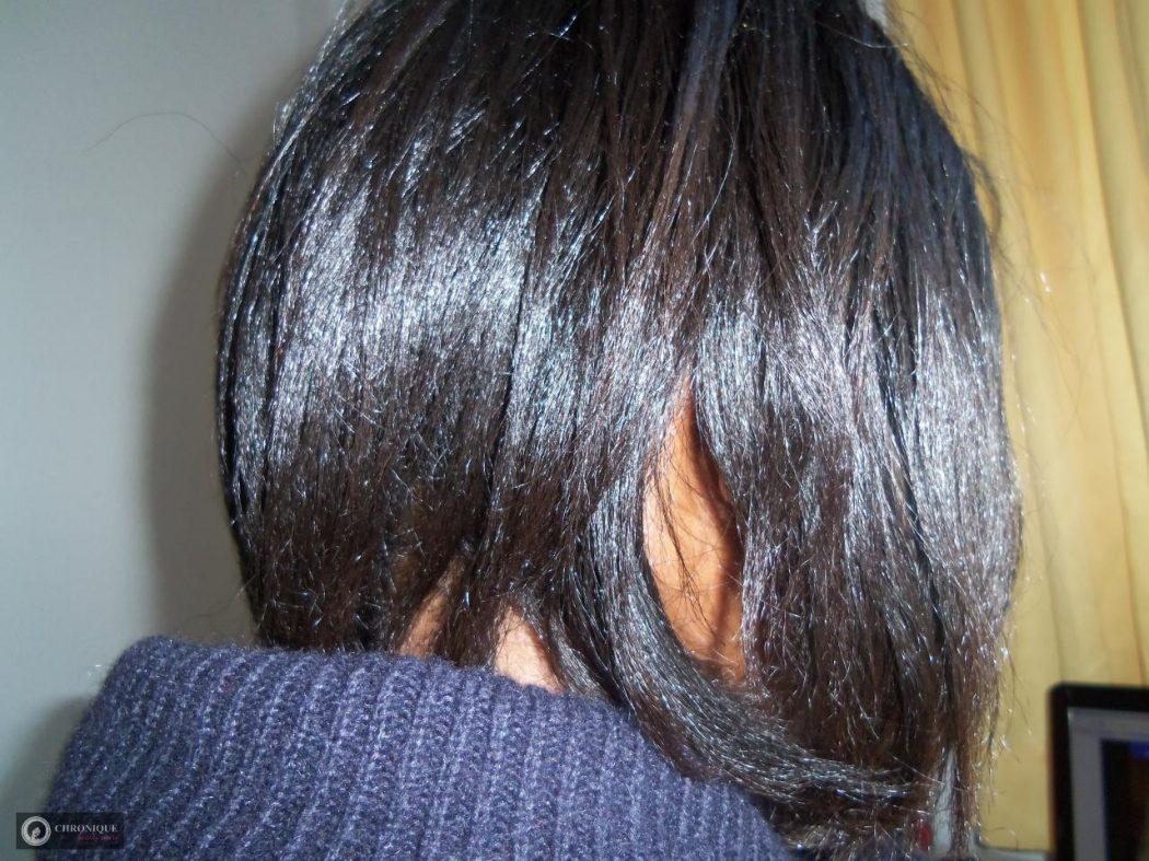 Lissage sur cheveux crépus