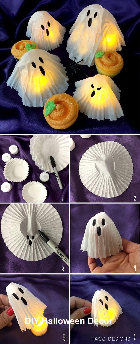 fantome DIY halloween
