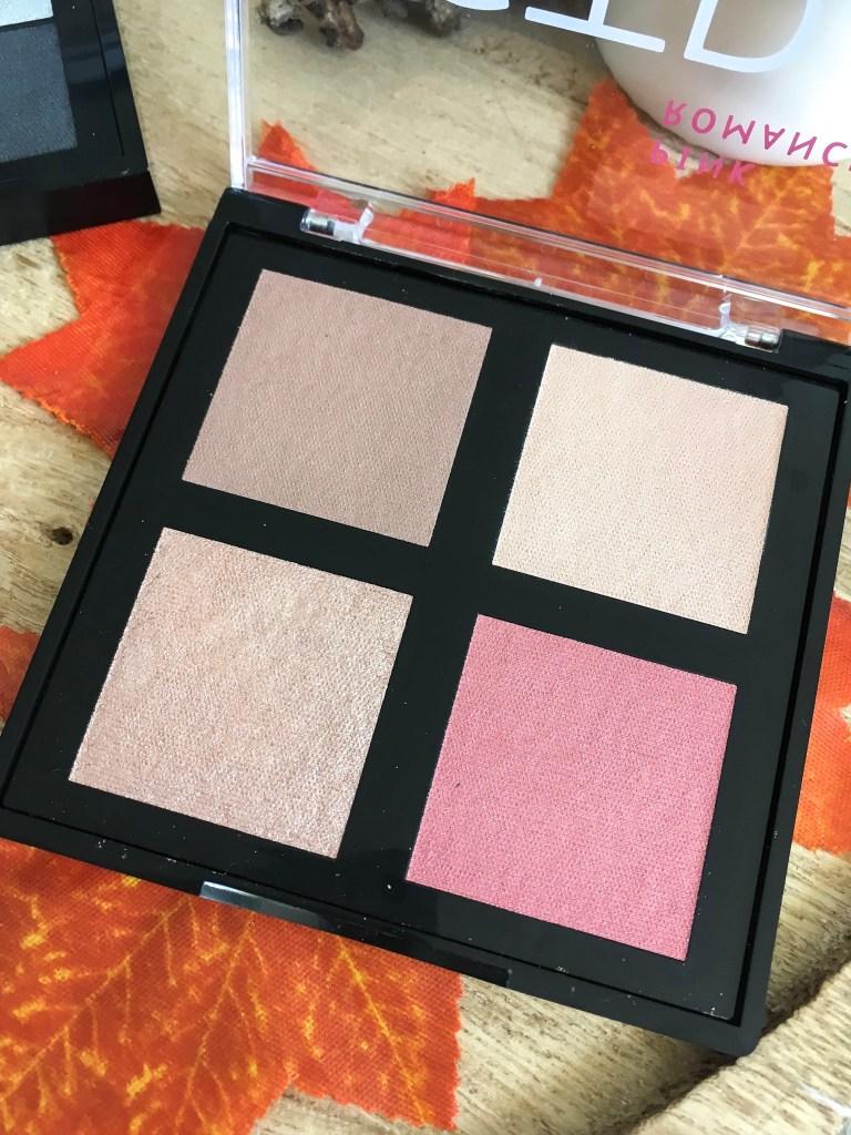 palette pink romance