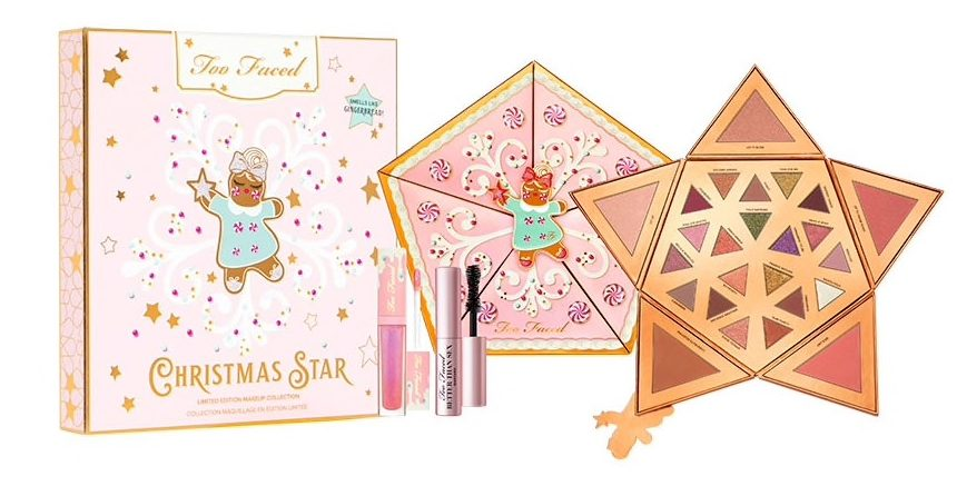 coffret star face too faced noel 2019