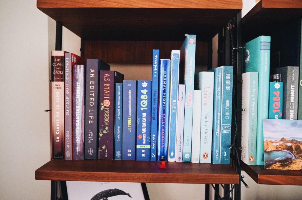 l'organisation de ma bibliothèque, bibliothèque, classement livres, organisation
